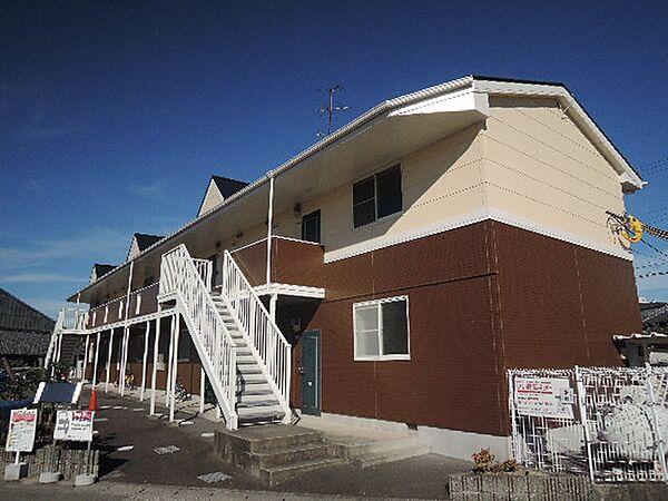 京都府久世郡久御山町佐古外屋敷の賃貸マンションの外観