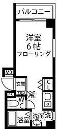 NOVEL COURT四つ木[4階]の間取り