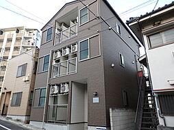 東京都大田区多摩川1丁目の賃貸アパートの外観