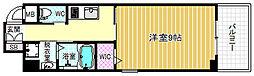 ダイワシティー福島[3階]の間取り