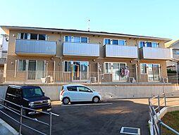 長崎県諫早市栄田町の賃貸アパートの外観
