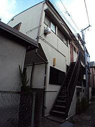 東京都世田谷区代田2丁目の賃貸アパートの外観