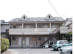 広島県広島市安佐南区長束3丁目の賃貸アパートの外観