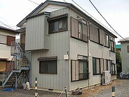 東京都町田市能ヶ谷3丁目の賃貸アパートの外観