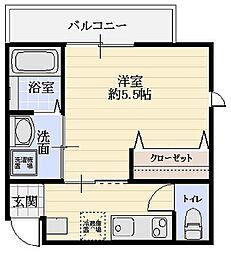 Lip Square[3階]の間取り
