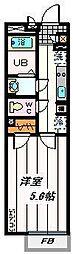 埼玉県さいたま市浦和区領家3の賃貸マンションの間取り