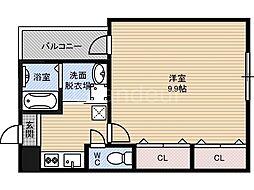 大阪府大阪市鶴見区今津中4丁目の賃貸アパートの間取り