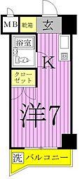 エレガンス綾瀬6[8階]の間取り
