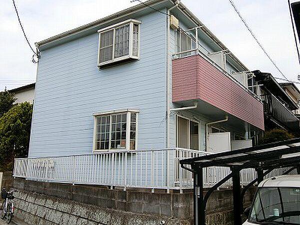 コーポ新横浜[203号室号室]の外観