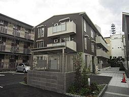 大阪府高槻市桃園町の賃貸アパートの外観