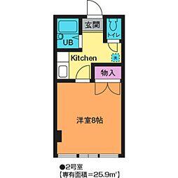MSビル[7階]の間取り