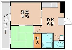 ポートサイド松平[1階]の間取り
