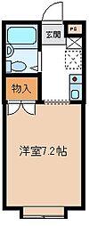 埼玉県久喜市吉羽の賃貸アパートの間取り