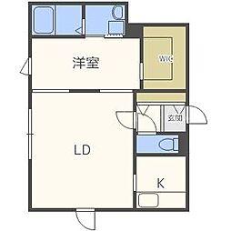 SKY PARK宮の沢II[4階]の間取り