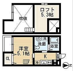 K'sハイツ (ケーズハイツ)[1階]の間取り