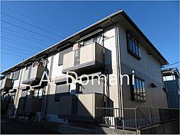 千葉県松戸市新松戸南2丁目の賃貸アパートの外観