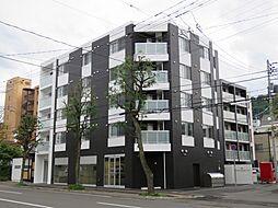 北海道札幌市中央区南三条西25丁目の賃貸マンションの外観