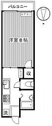 富田ハイツ[102号室号室]の間取り