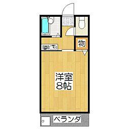 桂東ビル[3階]の間取り
