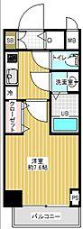 サムティ本町橋IIMEDIUS(メディアス)[11階]の間取り