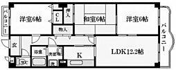 ドムール樋之池[2階]の間取り