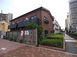 東京都中野区中央2丁目の賃貸アパートの外観