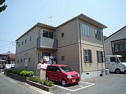 福岡県糟屋郡志免町片峰中央1丁目の賃貸アパートの外観