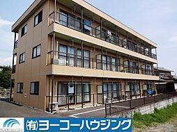 東京都あきる野市山田の賃貸マンションの外観