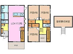 [一戸建] 三重県津市西古河町 の賃貸【/】の間取り