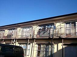 神奈川県横浜市港北区綱島西6丁目の賃貸アパートの外観