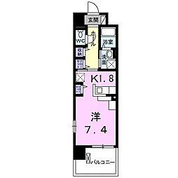 カンフリエ[1階]の間取り