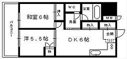 シティビル5[8階]の間取り