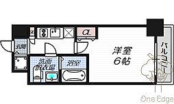 レジュールアッシュ梅田NEX[10階]の間取り