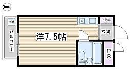 駒込K&Mビル[205号室]の間取り