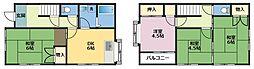 [一戸建] 神奈川県横浜市鶴見区佃野町 の賃貸【/】の間取り