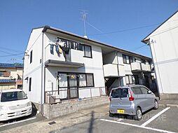 大阪府富田林市伏山1丁目の賃貸アパートの外観