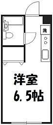 ビクトリーハイム[3階]の間取り