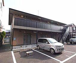 京都府京田辺市田辺道場の賃貸アパートの外観