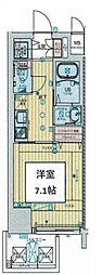 Osaka Metro千日前線 阿波座駅 徒歩8分の賃貸マンション 8階1Kの間取り