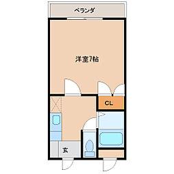 リーストラクチャ-塚口II[4階]の間取り