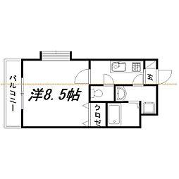 静岡県浜松市西区志都呂1丁目の賃貸マンションの間取り