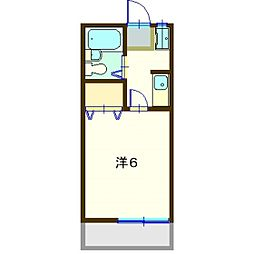 第八グリーンコーポ[2階]の間取り