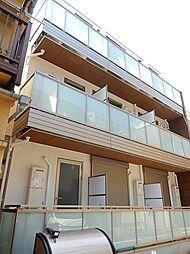 東京都江東区越中島2丁目の賃貸アパートの外観