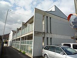 京都府京都市左京区松ヶ崎東町の賃貸マンションの外観