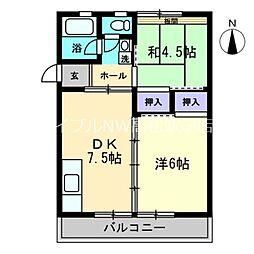 第2飯間ビル[3階]の間取り