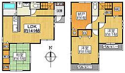 一戸建て(近鉄八尾駅から徒歩15分、98.25m²、3,180万円)