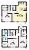 間取り,3LDK,面積103.44m2,賃料14.5万円,JR東北本線 自治医大駅 徒歩10分,,栃木県下野市烏ケ森1丁目4-12