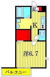 Lip Square[1階]の間取り
