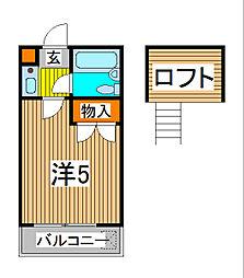 トルチェ蕨[2階]の間取り