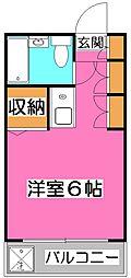 コーポエデン[2階]の間取り